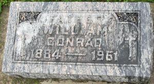 William Conrad, the grandson of Catherine Konzen & Anton Meyer, married Anna Loutsch, Angela Susanna Konzen & Peter Hansen's granddaughter.