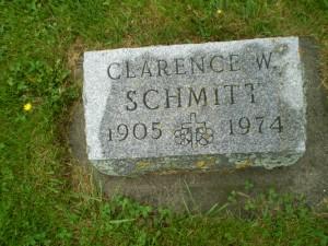 Paul Schmitt & Catherine Breitbach's son Clarence Schmitt.