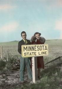 Kermit Konzen and Yvonne Sumner circa 1939/1940