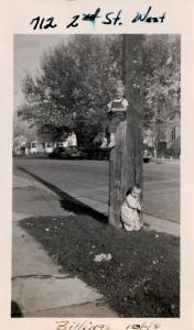 My aunts Karol (above) and Karen (below) in Billings.