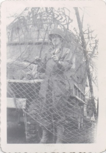 Karl Konzen during WWII.