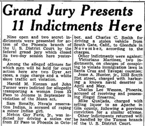 23 Nov 1946 issue of the Arizona Republic