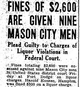 16 Nov 1929 issue of the Mason City Globe-Gazette