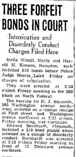 15 Dec 1939 issue of the Mason City Globe-Gazette