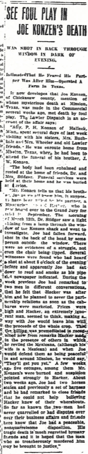 The Dyersville Commerical edition published on 22 Apr 1920.